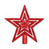 - Kırmızı Yıldız Ağaç Tepeliği (13cm)