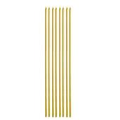 - Altın Sarı Metalik İnce Uzun Mum (20cm)