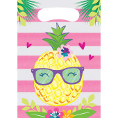 - Ananas, Flamingo ve Papağan Hediye Poşeti