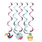 - Ananas, Flamingo ve Papağan Süs Dalgaları