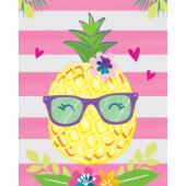 - Ananas Partisi Davetiye Kartı