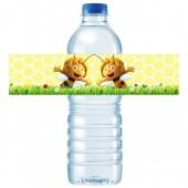 - Arı Maya Etiketli Su Şisesi Bandı