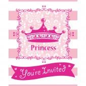 - Asil Prenses Davetiye Kartı