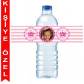 - Asil Prenses Kişiye Özel Su Şişesi Bandı