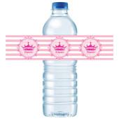 - Asil Prenses Su Şişesi Etiketi