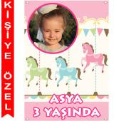 - Atlıkarınca Kişiye Özel Fotoğraflı Afiş