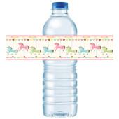 - Atlıkarınca Partisi Su Şişesi Etiketi