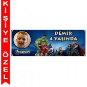 - Yenilmezler / Avengers Kişiye Özel Afiş