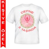 - Balerin Kız Kişiye Özel Baskılı T-Shirt