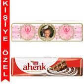 - Balerin Kız Kişiye Özel Sargılı Eti Çikolata Bar
