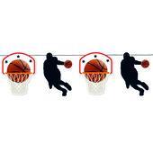 - Basketbol Partisi Bayrak Afiş