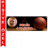 - Basketbol Kişiye Özel Afiş