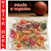 - Basketbol Kişiye Özel Ambalajlı Kent Şeker