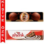 - Basketbol Kişiye Özel Sargılı Eti Çikolata Bar