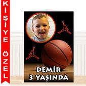 - Basketbol Partisi Kişiye Özel Masa Süsü
