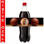 - Basketbol Partisi Kişiye Özel Litrelik Şişe Bandı