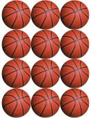 - Basketbol Partisi Küçük Etiket