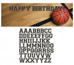 - Basketbol Partisi Yazılabilir Afiş
