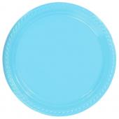 - Bebek Mavi Plastik Tabak