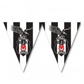 - Beşiktaş Üçgen Bayrak Afiş