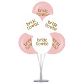 - Bride To Be Balonları ve Balon Standı