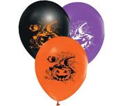 - Cadılar Bayramı Lateks Plastik Balon