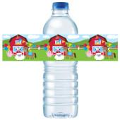 - Çiftlik Evi Su Şişesi Etiketi