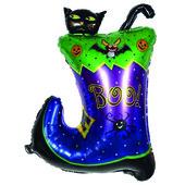 - Çizmeli Kara Kedi Folyo Balon 90cm