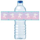 - Deniz Kızı Su Şişesi Etiketi