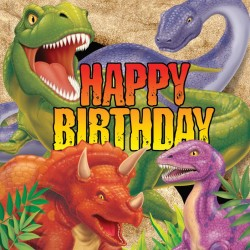 - Dinozorlar Diyarı Happy Birthday Peçete