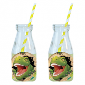 - Dinozorlar Diyarı Limonata-Meşrubat Şişesi