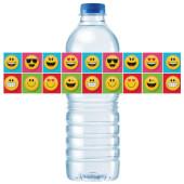 - Gülen Yüzler Partisi Su Şişesi Etiketi