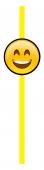 - Gülen Yüzler Sarı Pipet