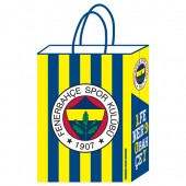 - Fenerbahçe Büklüm Saplı Kağıt Çanta