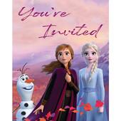 - Frozen 2 Davetiye Kartı