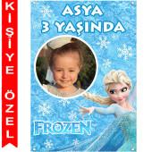 - Frozen Kişiye Özel Fotoğraflı Afiş