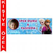 - Frozen Karlar Ülkesi Kişiye Özel Afiş