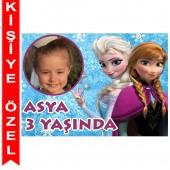 - Frozen Kişiye Özel Fotoğraflı Magnet