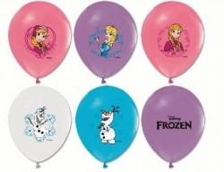 - Frozen Karlar Ülkesi Lateks Balon