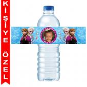 - Frozen Kişiye Özel Su Şişesi Bandı