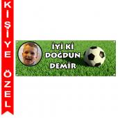 - Futbol Partisi Kişiye Özel Afiş