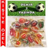 - Futbol Kişiye Özel Ambalajlı Kent Şeker