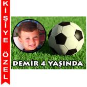 - Futbol Partisi Kişiye Özel Magnet