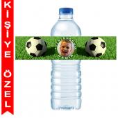 - Futbol Partisi Kişiye Özel Su Şişesi Bandı