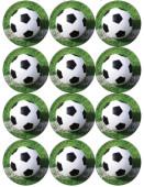 - Futbol Partisi Küçük Etiket