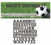 - Futbol Topu Yazılabilir Afiş