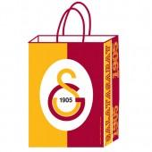 - Galatasaray Büklüm Saplı Kağıt Çanta