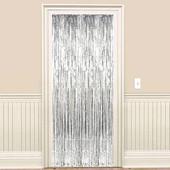 - Gümüş Gri Kapı - Duvar Folyo Fon Perdesi