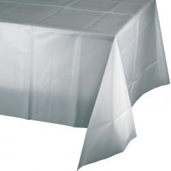 - Gümüş Gri Masa Örtüsü
