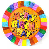 - Happy Birthday Pinyata ve Sopası